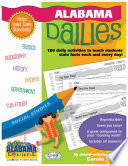 Alabama Dailies  180 Daily Activities for Kids
