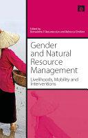 Gender and Natural Resource Management
