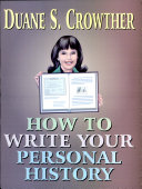 How to Write Your Personal History