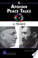 Book Afghan Peace Talks