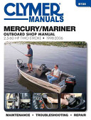 Mercury Mariner Outboard Shop Manual