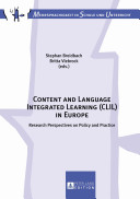 Content and Language Integrated Learning  CLIL  in Europe