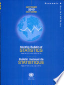 Monthly Bulletin of Statistics  October 2010