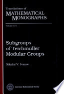 Subgroups of Teichmuller Modular Groups