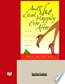 And She Lived Happily Ever After  EasyRead Super Large 24pt Edition