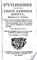 Historie en over een kominge der vier evangelien