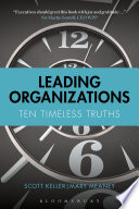 Leading Organizations : you add in the hundreds...