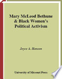 Book Mary McLeod Bethune and Black Women s Political Activism