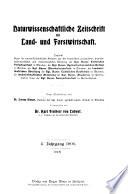 Naturwissenschaftliche zeitschrift f  r forst  und landwirtschaft
