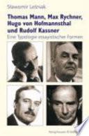 Thomas Mann, Max Rychner, Hugo von Hofmannsthal und Rudolf Kassner