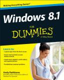 Windows 8 1 For Dummies