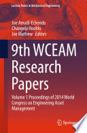 9th WCEAM Research Papers