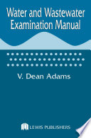 Water and Wastewater Examination Manual