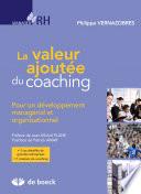 La valeur ajout  e du coaching