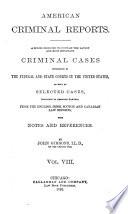 American Criminal Reports