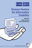Human Factors for Informatics Usability