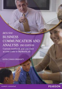 Business Communication and Analysis (Custom Edition)