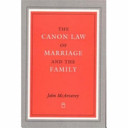 The Canon Law of Marriage and the Family