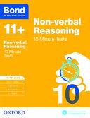 Bond 11   Non Verbal Reasoning  10 Minute Tests