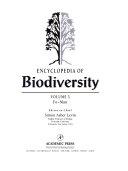 Encyclopedia Of Biodiversity book