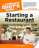 The Complete Idiot s Guide to Starting A Restaurant  2nd Edition