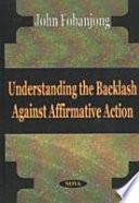 Understanding the Backlash Against Affirmative Action Pdf/ePub eBook