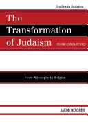 The Transformation of Judaism One System Of The Israelite