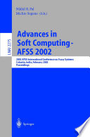 Advances In Soft Computing Afss 2002