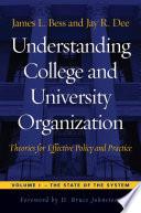 Understanding College and University Organization