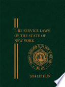 Fasny Fire Service Laws Of The State Of New York 2014 Edition