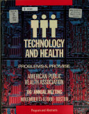 Annual Meeting of the American Public Health Association and Related Organizations