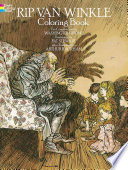 Rip Van Winkle Coloring Book : are 30 rackham illustrations rendered for coloring....