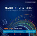 Symposium Proceedings Of The 5th International Nanotech Symposium And Exhibition In Korea book