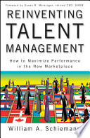 Reinventing Talent Management : comprehensive presentation of the need...
