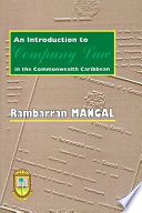 An Introduction to Company Law in the Commonwealth Caribbean