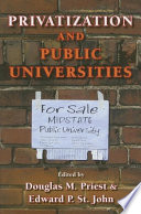 Privatization and Public Universities