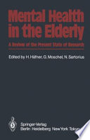 Mental Health In The Elderly book