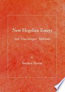 New Hegelian Essays