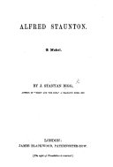 download ebook alfred staunton; a novel pdf epub