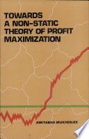 Towards a Non Static Theory of Profit Maximization