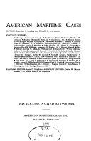 American Maritime Cases
