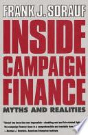 Inside Campaign Finance