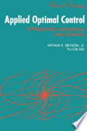 Applied Optimal Control