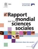 Rapport Mondial Sur Les Sciences Sociales