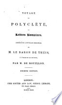 Voyage de Polyelète Au Lettres Romames