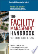 The Facility Management Handbook Chapter 30  Managing the Budget