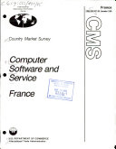 Computer software and service, France