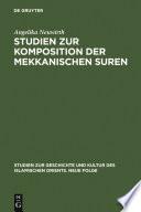 Studien zur Komposition der mekkanischen Suren