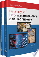 Dictionary Of Information Science And Technology book