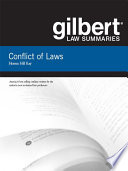 Gilbert Law Summaries on Conflict of Laws  18th